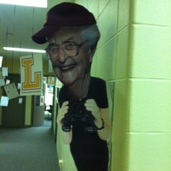 Photo taken at SAGA Office- Loyola University Chicago by Lindsy F. on 10/31/2011