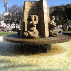 Photo taken at Plaza de Armas by Francisco T. on 5/19/2012