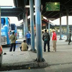 Photo taken at Terminal Purabaya (Bungurasih) by che z. on 11/16/2011