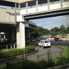 Photo taken at Bel-Air - Washington Jeepney Terminal by Alexander C. on 8/9/2012