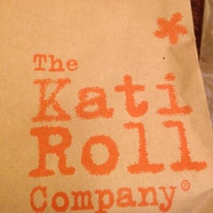Photo taken at The Kati Roll Company by Jason O. on 3/5/2012