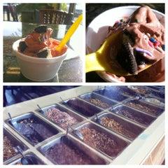 Photo taken at Honey Treat Yogurt by Ashley S. on 1/30/2012