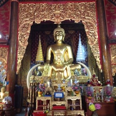 Photo taken at วัดชัยมงคล (Wat Chai Mongkol) by Sancha P. on 4/2/2012