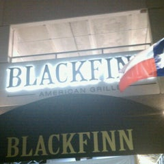 Photo taken at BlackFinn American Grille by Miyanda W. on 11/1/2011