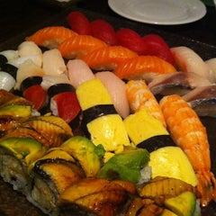 Photo taken at Sushi Palace by Hideki S. on 7/31/2012
