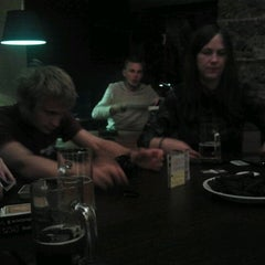 Photo taken at Akivarai (Restoranas ir Pub'as) by Šarūnas D. on 8/20/2012
