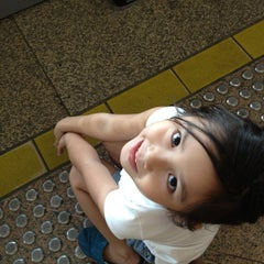Photo taken at Tampines MRT Station (EW2/DT32) by Lhanie F. on 4/21/2012