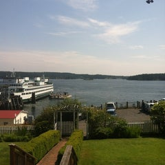 Photo taken at Orcas Island Ferry Terminal by Chris B. on 7/15/2012