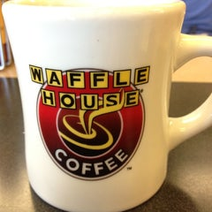 Photo taken at Waffle House by Matt B. on 4/17/2012