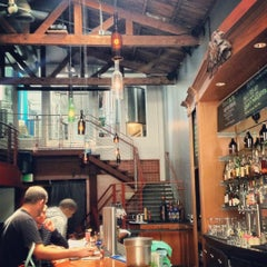 Photo taken at Social Kitchen & Brewery by Daniel V. on 6/24/2012
