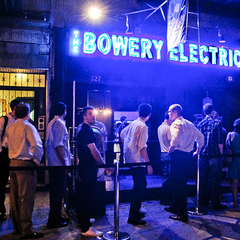 Photo taken at The Bowery Electric by Party Earth on 4/3/2012