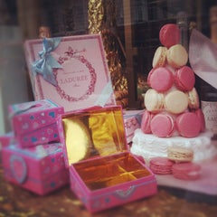 Photo taken at Ladurée by Natthanit R. on 2/5/2012