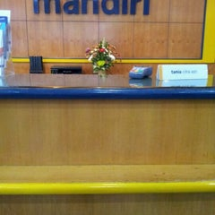 Photo taken at Bank mandiri Klandasan by Billy J. on 5/21/2012