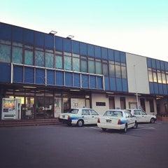 Photo taken at 辰野駅 (Tatsuno Sta.) by みちる on 3/25/2012