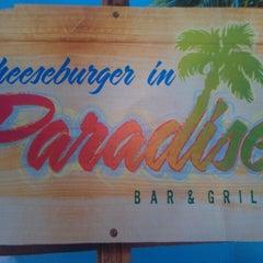 Photo taken at Cheeseburger in Paradise - Evansville by John J H. on 5/23/2012