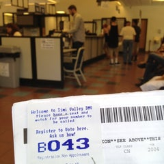 Photo taken at Department of Motor Vehicles by Thepimpchef L. on 7/11/2012