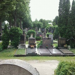 Photo taken at Hietzinger Friedhof by Max A. on 6/2/2012