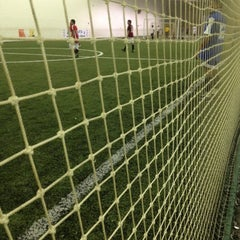 Photo taken at Soccerdome by Diana T. on 3/6/2012