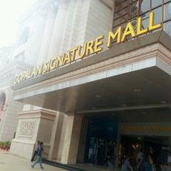 Photo taken at Gopalan Signature Mall by Sunayana H. on 9/3/2012