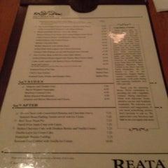 Photo taken at Reata Restaurant by Brian P. on 2/27/2012