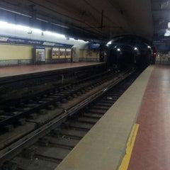 Photo taken at Estación Diagonal Norte [Línea C] by Nacho on 5/31/2012