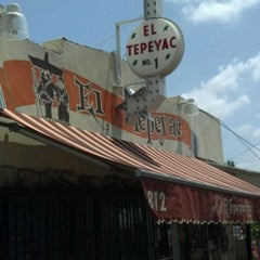 Photo taken at Manuel's Original El Tepeyac Cafe by Adan H. on 5/25/2012