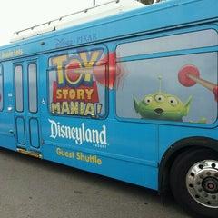 Photo taken at Toy Story Parking Lot by Glenda R. on 4/22/2012