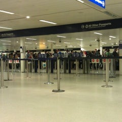 Photo taken at Security/Passport Control - T1 by Stephen H. on 4/11/2012