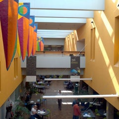Photo taken at Neuberger Hall (PSU) by Kenton B. on 10/4/2011