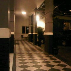 Photo taken at Hotel Trijaya by joni j. on 7/13/2011