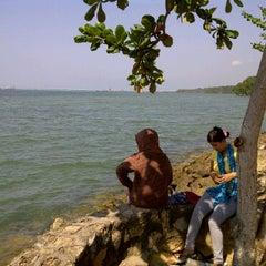 Photo taken at Pantai Aquatic by Hendra 💕💜 H. on 7/8/2011