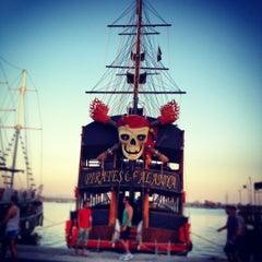 Photo taken at Pirates of Alanya by Çiğdem on 7/13/2012