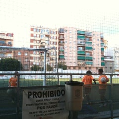 Photo taken at Olimpica Victoriana Club de Futbol by Maite F. on 1/17/2012