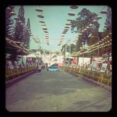Photo taken at Le Van Tam Park by Tuan N. on 3/19/2012
