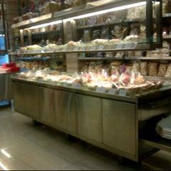 Photo taken at Merlino Bakery, Tart & Bakpia by Parmuadhi S. on 7/4/2011