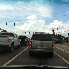 Photo taken at Anderson Rd & Waters Ave by Daniel M. on 8/1/2012