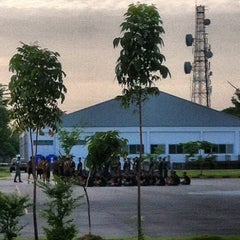 Photo taken at หน่วยบัญชาการอากาศโยธิน by Narongsak R. on 5/2/2012