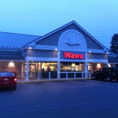 Photo taken at Wawa by James B. on 9/23/2011
