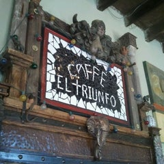Photo taken at Caffe El Triunfo by David M. on 11/6/2011