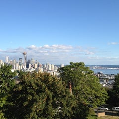 Photo taken at Kerry Park by Polly S. on 7/29/2012
