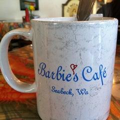 Photo taken at Barbie's Seabeck Bay Cafe by Tara F. on 4/1/2012