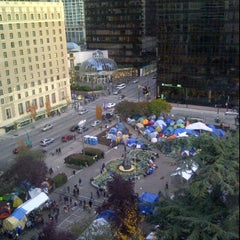 Photo taken at Occupy Vancouver Protest by Charles R. on 10/21/2011