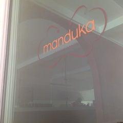 Photo taken at Manduka by Araceli S. on 4/4/2012
