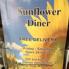 Photo taken at Sunflower Diner by Angie C. on 4/18/2012