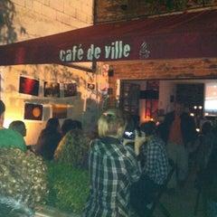 Photo taken at Café de Ville by Joel V. on 5/6/2012