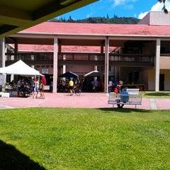 Photo taken at Manoa Marketplace by Mel S. on 7/22/2012