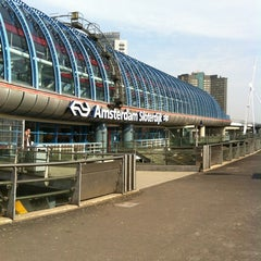 Photo taken at Station Amsterdam Sloterdijk by Moniek F. on 5/2/2012