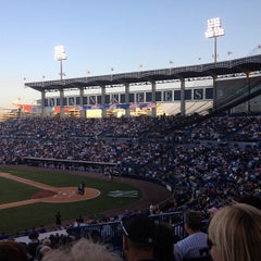 Photo taken at George M. Steinbrenner Field by Brian E. on 3/27/2012