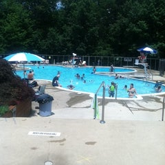 Photo taken at Edgewood Pool by David E. on 6/24/2011