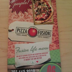 Photo taken at Pizza Fusion by Joe M. on 11/27/2011